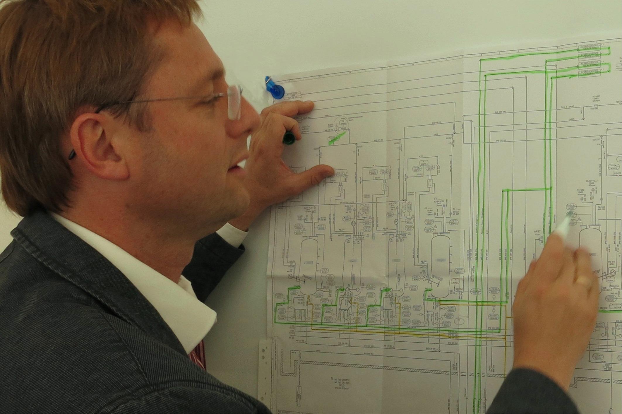Foto: Ingenieurbüro Axel Erbe - Fließbild